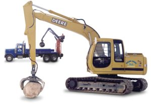 Large heavy equipment